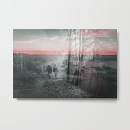 Unknown Fate Metal Print