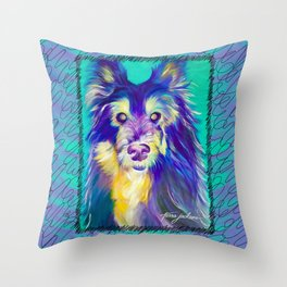 Stare Throw Pillow