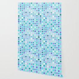 Circles and Squares Wallpaper