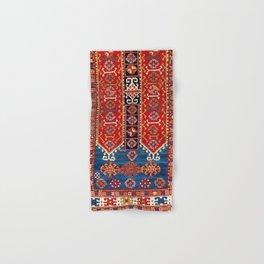 Kazak Southwest Caucasus Carpet Fragment Print Hand & Bath Towel