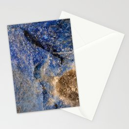 Lapis lazuli texture up close Stationery Cards