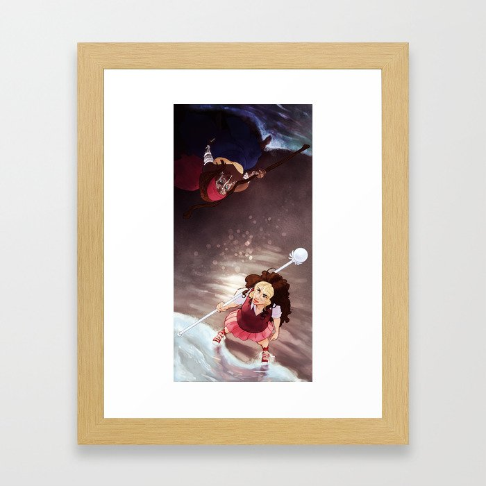 the first and the last Framed Art Print