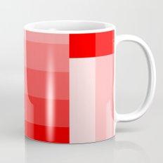 Shades of Red Gradient Mug