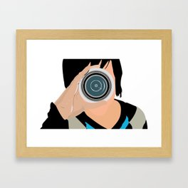 Lens Framed Art Print