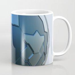 Blue technology ball Coffee Mug