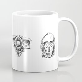 Robots Illustration Coffee Mug