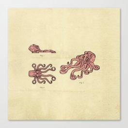 Lego Octopus Canvas Print