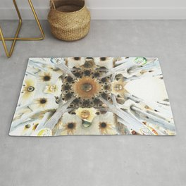Sagrada Cathedral Sky Rug