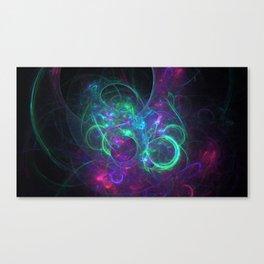 Chaos in Cosmos Canvas Print
