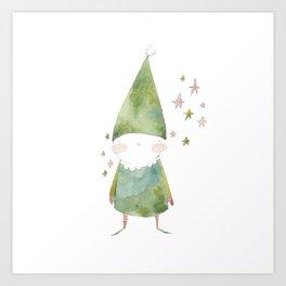 Bird Elf Art Print
