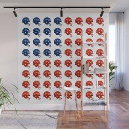 American Football Flag Wall Mural