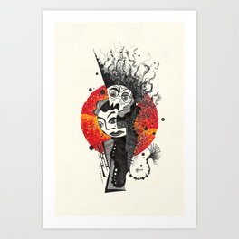 18. Dr. Jekyll & Mr. Hyde Art Print