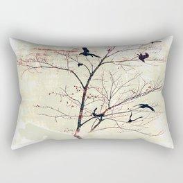 WHITEOUT/neutral Rectangular Pillow