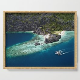 Island hopping around the Philippine Islands Serving Tray