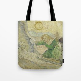 The Raising of Lazarus (after Rembrandt) Tote Bag