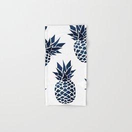 Pineapple Blue Denim Hand & Bath Towel