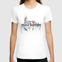 nashville T-shirts featuring + Nashville Skyline + by BANBAN