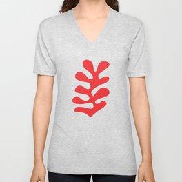 Matisse Leaves Cut Out #3 Unisex V-Neck