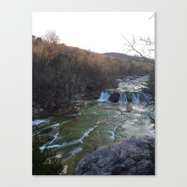 Turner Falls Canvas Print