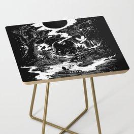 XIII - Death Card (Shadow Light Tarot) Side Table