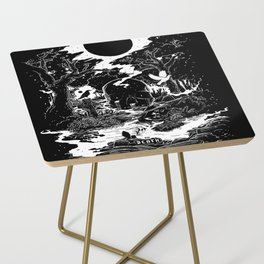 XIII - Death Card (Shadow Light Tarot) Side Table