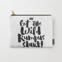 WILD RUMPUS Carry-All Pouch