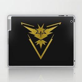 Team Instinct Sparkly yellow gold sparkles Laptop & iPad Skin