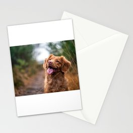 Mans Best Friend is a Dog 5 Stationery Cards