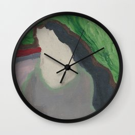 Greenery 1 Wall Clock