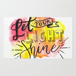 Let Your Light Shine Rug