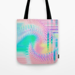 Distorted signal 03 Tote Bag
