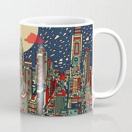 philadelphia city skyline Coffee Mug