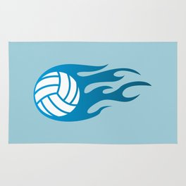 The Volleyball I Rug