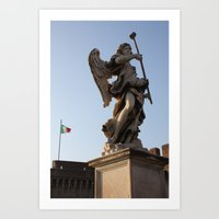 Angels In Italy  Art Print