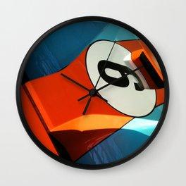 Car Numero 6 Wall Clock