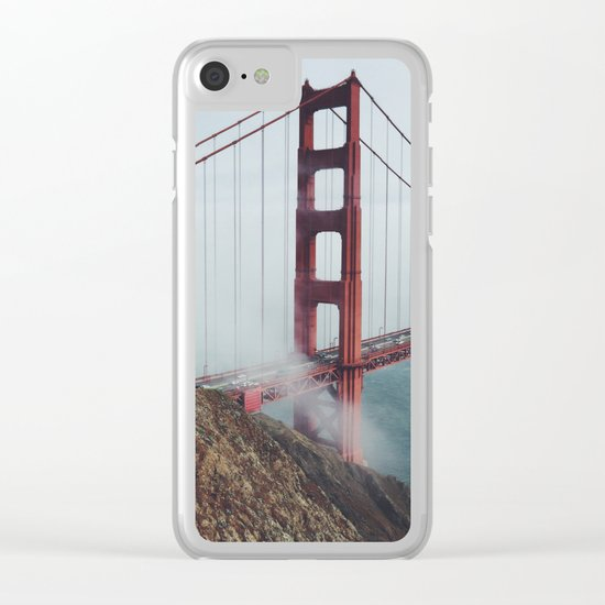 California Bridge photo Clear iPhone Case