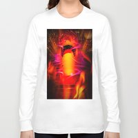 romance Long Sleeve T-shirts featuring Lighthouse romance by Walter Zettl