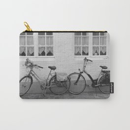Bicycles in Bruges Carry-All Pouch