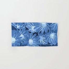 Duotone Flowers Hand & Bath Towel