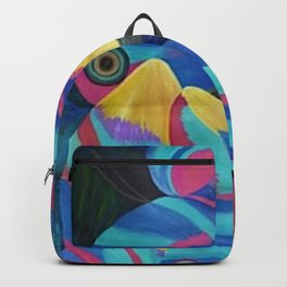 Butterfly Fish Birds Backpack