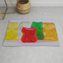 Losing My Mind (The Gummie Bears Photo Original) Rug