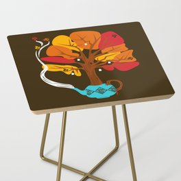 Tea Leaves Side Table