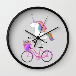 Bicycorn Wall Clock