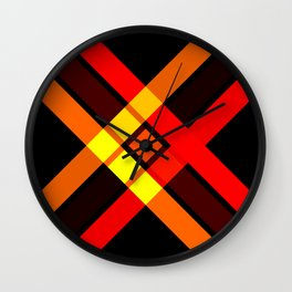 Retro X 15 Wall Clock