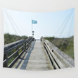 beach access Wall Tapestry