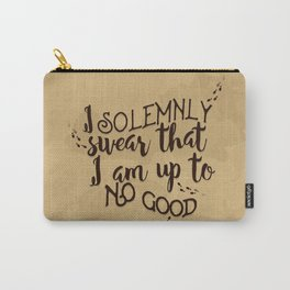 Marauder's Map - I solemnly swear that I am up to no good Carry-All Pouch