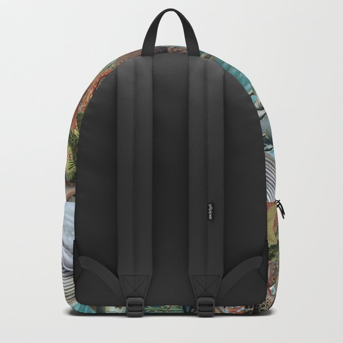 The Deep Blue Backpack