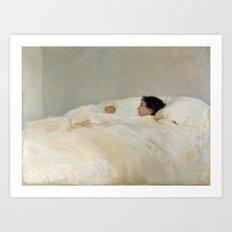 Mother by Joaquín Sorolla Art Print