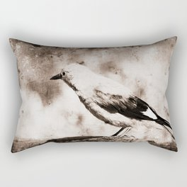 Old flying thoughts Rectangular Pillow