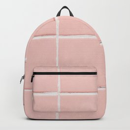 Pink Wall Backpack